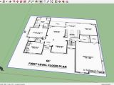 Sketchup Home Plans Sketchup House 01 Import Floor Plan Youtube