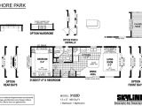 Skyline Homes Floor Plans Shore Park 3122d by Skyline Homes Park Models