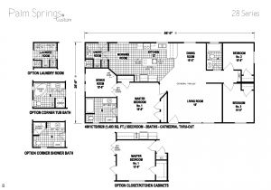 Skyline Manufactured Home Floor Plans Palm Springs Series 5starhomes Manufactured Homes