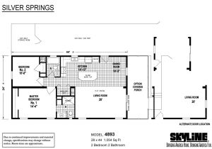 Skyline Mobile Home Floor Plans Skyline Manufactured Homes Floor Plans