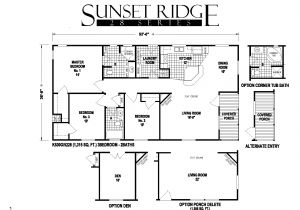 Skyline Mobile Home Floor Plans Sunset Ridge Series 5starhomes Manufactured Homes