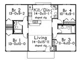 Slab On Grade Home Plans Slab On Grade Small House Plans Home Design and Style