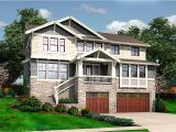 Sloped Lot Home Plans for the Front Sloping Lot 23404jd Architectural