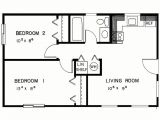 Small 2 Bedroom Home Plans Simple Two Bedrooms House Plans for Small Home Modern