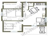 Small 2 Bedroom Home Plans Small Two Bedroom House Floor Plans Small Two Bedroom