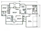 Small 4 Bedroom Home Plan Bedroom Bathroom House Floor Plans Need to Know when