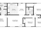 Small 4 Bedroom Home Plan Modern Design 4 Bedroom House Floor Plans Four Bedroom
