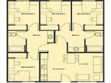 Small 4 Bedroom Home Plan Small 4 Bedroom House Plans Contemporary Exclusive Big