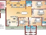 Small 4 Bedroom Home Plan Small 4 Bedroom Ranch House Plans