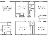 Small 4 Bedroom Home Plan Wonderful Small 4 Bedroom House Plans Free Typical Floor