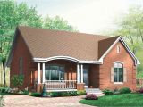 Small Brick Home Plans Popular Brick House Plan with Alternates 21275dr