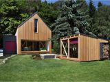 Small Cedar Home Plans A Contemporary Wooden Cottage by Prodesi Small House Bliss
