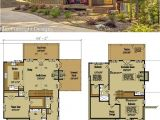 Small Chalet Home Plans Small Cabin Home Plan with Open Living Floor Plan Open