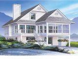 Small Coastal Home Plans Coastal House Plans Narrow Lots Economical Small Cottage