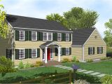 Small Colonial Home Plans 2 Story Colonial House Plans Two Story Colonial House with