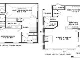 Small Colonial Home Plans Small Colonial House Floor Plans Small Colonial House
