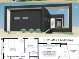 Small Contemporary Home Plans Small Front Courtyard House Plan 61custom Modern House