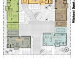 Small Courtyard Home Plans Courtyard Hx Surripui Net Amusing U Shape House Decorating