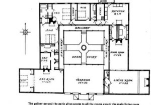 Small Courtyard Home Plans Small Hacienda House Plans Hacienda Style House Plans with