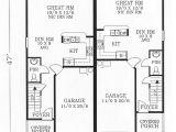 Small Duplex House Plans 800 Sq Ft Duplex Home Plans at Coolhouseplans Com