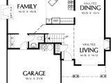 Small Family Home Plans Small Family Home with Luxurious Master 69276am