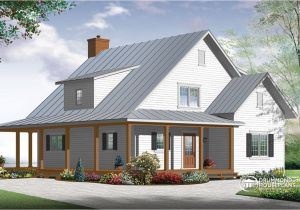 Small Farm Home Plans Modern Farmhouse House Plan Small Modern Farmhouse Plans