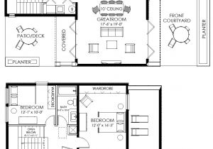 Small Floor Plans for New Homes Contemporary Small House Plan 61custom Contemporary