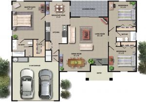 Small Floor Plans for New Homes House Floor Plan Design Small House Plans with Open Floor