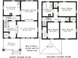 Small Foursquare House Plans Craftsman Foursquare House Plans