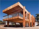 Small Hillside Home Plans Beach Shack House Plans Small Craftsman Hillside House