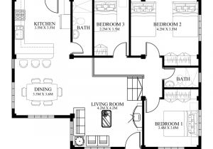 Small Home Designs Floor Plans Small House Designs Series Shd 2014006v2 Pinoy Eplans
