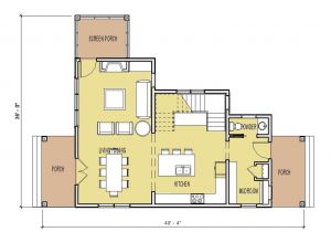 Small Home Designs Floor Plans Small House Plans Under 500 Sq Ft