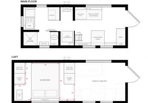 Small Home Designs Floor Plans Tiny House On Wheels Floor Plans Blueprint for Construction