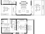 Small Home Plan Contemporary Small House Plan 61custom Contemporary