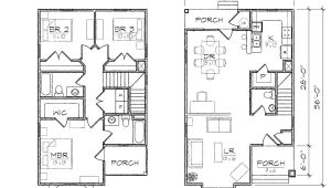 Small Home Plans for Narrow Lots Small House Plans for Narrow Lot Home Deco Plans