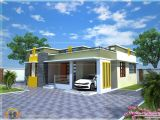 Small Home Plans In Kerala Style Home Design House Plan Of A Small Modern Villa Kerala