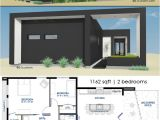 Small Home Plans Modern Small Front Courtyard House Plan 61custom Modern House