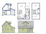 Small Home Plans with Loft Bedroom Small Courtyard House Plans Small House Plans with Loft