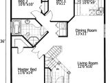 Small Homes Plans Free Barrier Free Small House Plan 90209pd 1st Floor Master