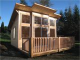 Small House Plans Washington State Pan Abode Mighty Cabana