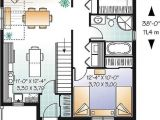 Small House Plans with Big Kitchens House Plan W3125 Detail From Drummondhouseplans Com