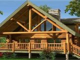 Small Lake House Plans with Loft Small Log Cabin Home Designs Small Log Home with Loft