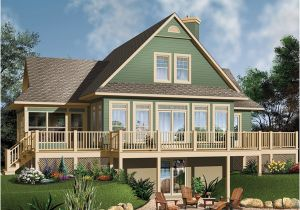 Small Lake House Plans with Photos Crestwood Lake Waterfront Home Plan 032d 0686 House