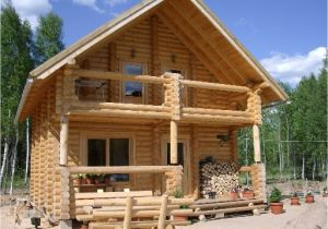 Small Log Home Plans Log Cabin Homes Designs Small Home with Loft Interior