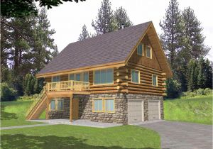 Small Log Home Plans Small Log Home Designs with Wooden and Stone Wall Ideas