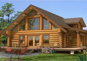 Small Log Home Plans Small Log Home with Loft Log Home Plans and Prices Log