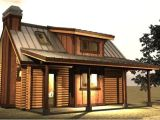Small Log Home Plans with Loft Small Log Cabin with Loft Tiny House Pinterest