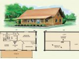Small Log Homes Floor Plans Tiny Log Cabin Plans with Loft