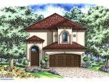 Small Mediterranean Style Home Plans Mediterranean House Plan Narrow Lot 2 Story