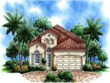 Small Mediterranean Style Home Plans Mediterranean Style Plans with Pool